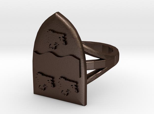 Allardice Ring 3d printed