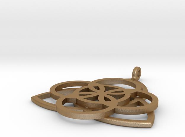 Celtic Earrings 3d printed