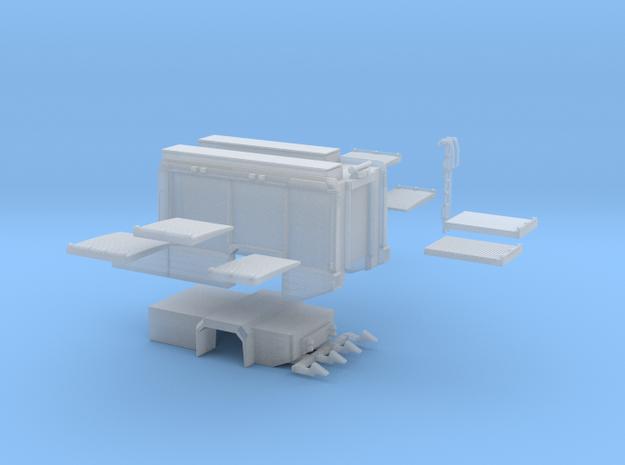 Aufbau AT3 Scaniastandardkabinen-mittellang  in Smooth Fine Detail Plastic
