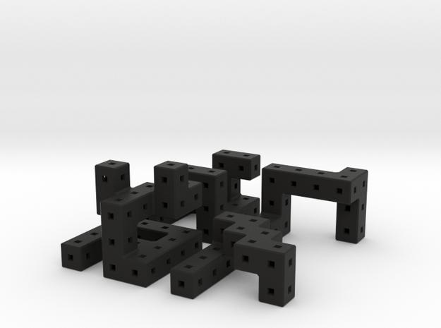 Quaturnery Qube 3.2cm 3d printed