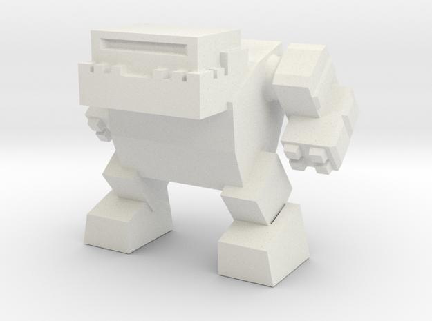 Robot 0042 Mech Bot v1 Bulldog 3d printed