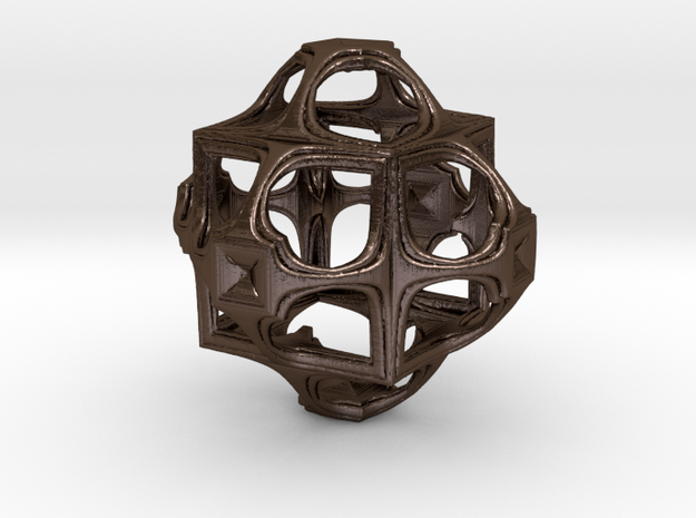 Fractal Cube GD8 3d printed