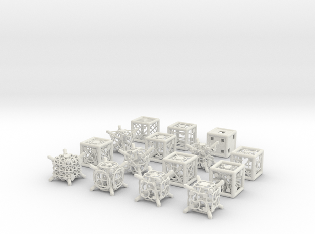 Grid Die All Pack 7 of 13 3d printed