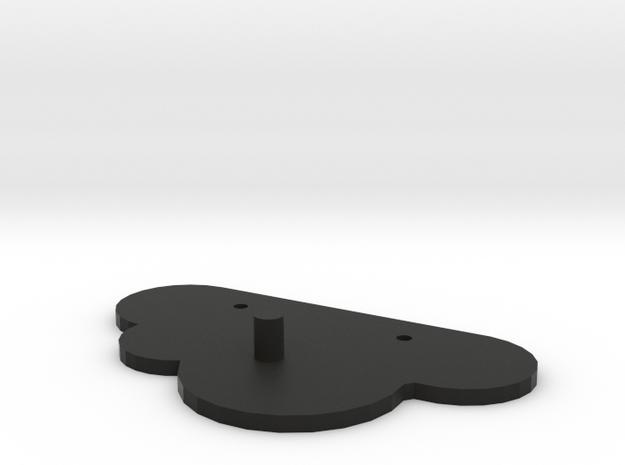 Cloud Key Magnet Wall mount 3d printed