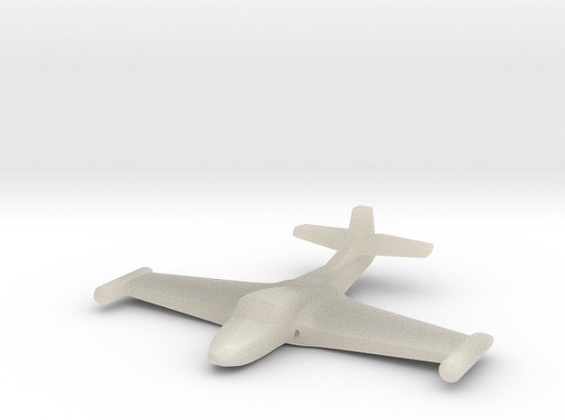 1/285 (6mm) A-37 Dragonfly in White Acrylic