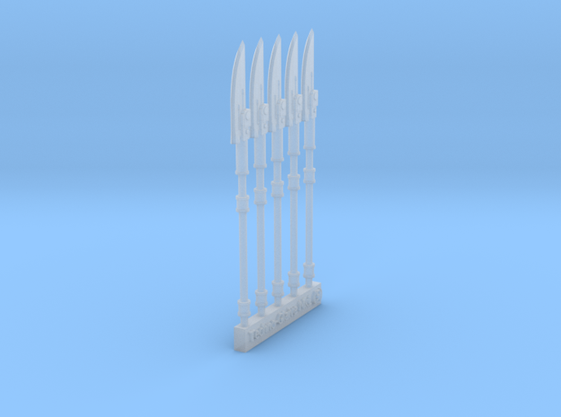Techno-Halberd (5) 3d printed