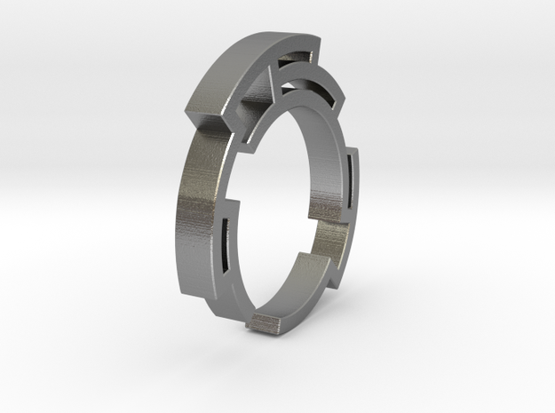 Way out ring - Size 6.75 3d printed