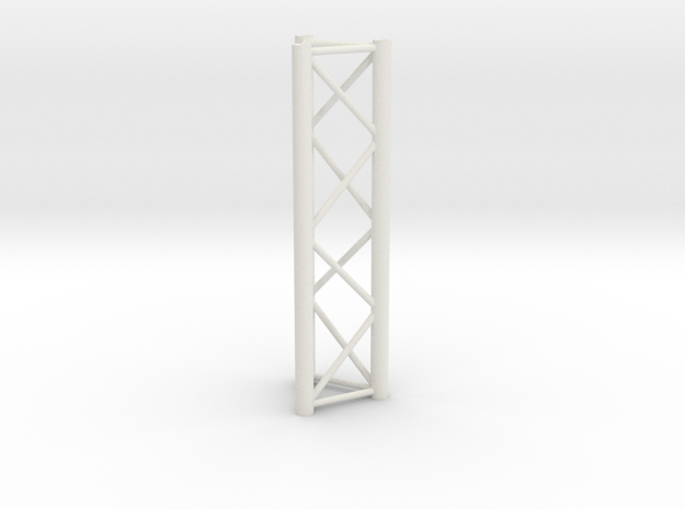 Truss, miniature 1:10 in White Natural Versatile Plastic
