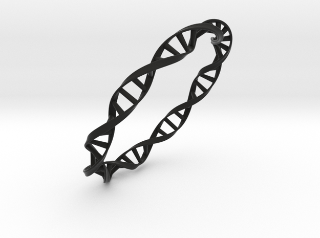 DNA Moebius bracelet (large) 3d printed