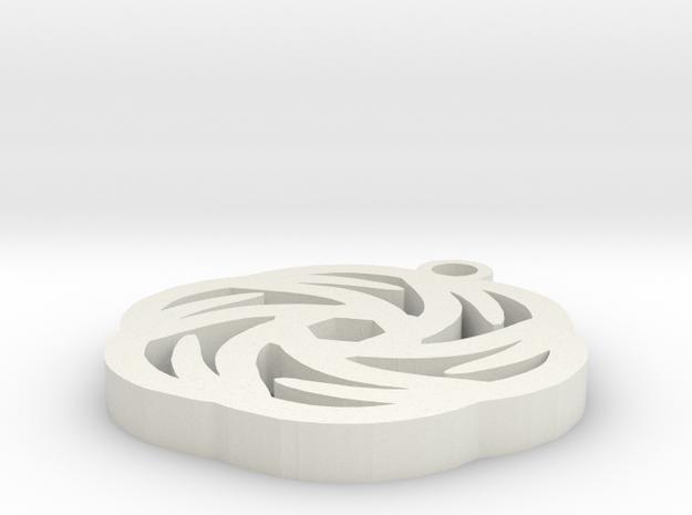 Rose Pendant - Image Popper 3d printed