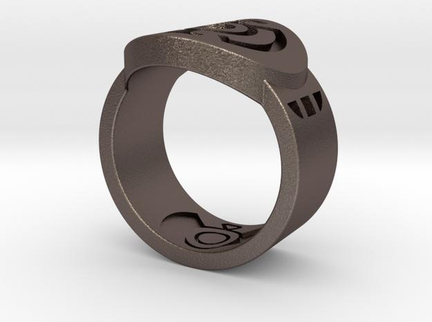 Blue Hope FF Ring Sz 10 3d printed
