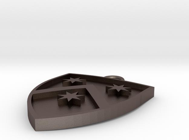 Heraldic Pendant (One possible design) 3d printed