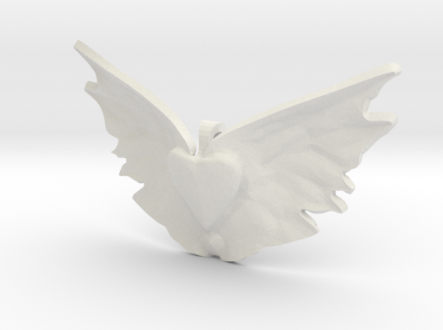 heart takes flight 3d printed