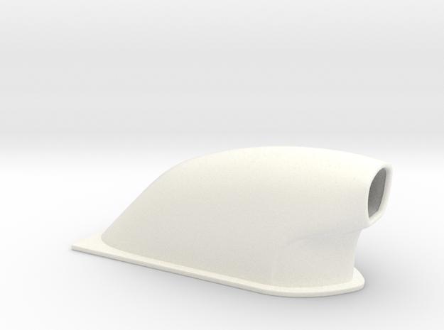1/24 Small Pro Mod Hood Scoop 3d printed