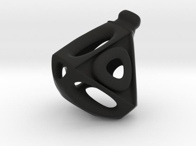 Tetroid Earring 3d printed