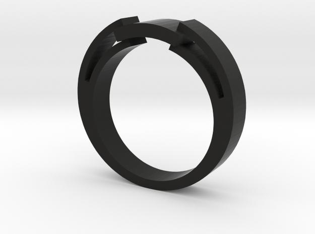 Snake Ring - Size 6.75 3d printed