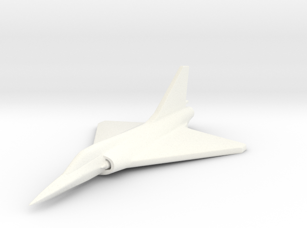 1/285 (6mm) Mirage-2000 3d printed