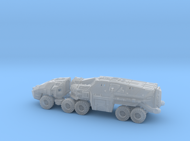 Command Trailer and Cab - 1/300 scale (6mm)  in Frosted Ultra Detail