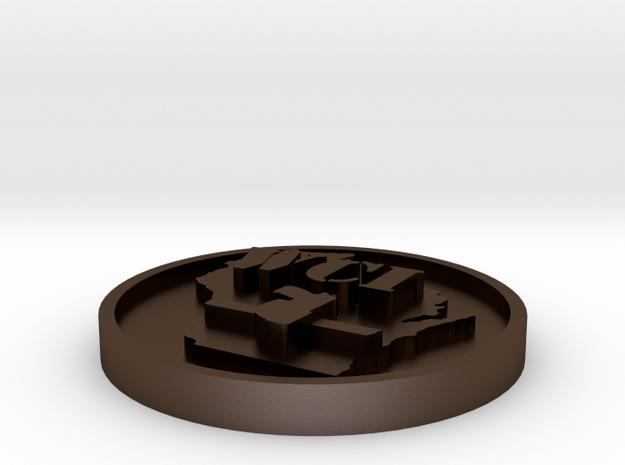 WCI 2cmx3cm SS 3d printed