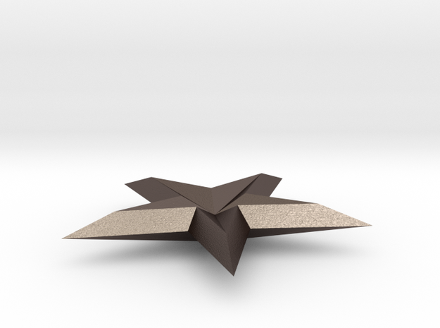 FINAL SHAPEWAYS 3D STAR 3d printed