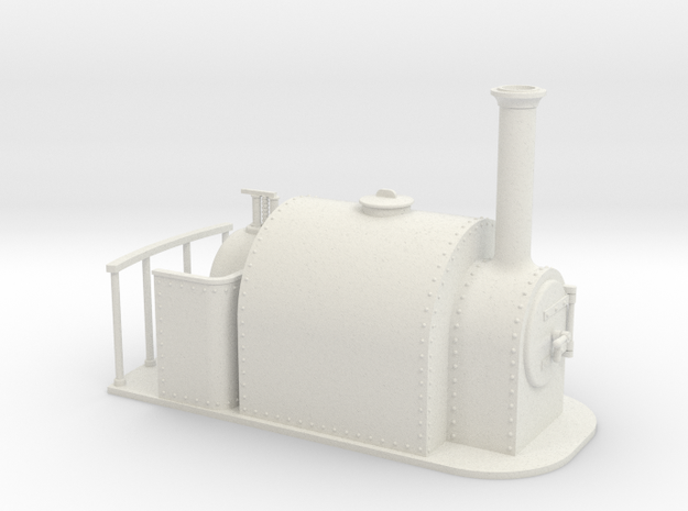1:32 15 inch gauge large saddle tank 3d printed