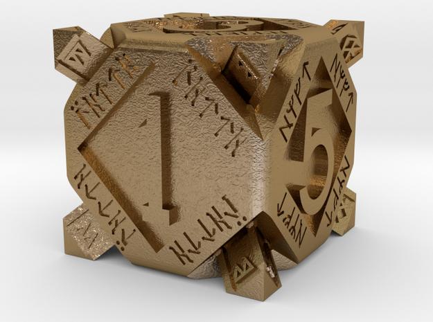 Dwarf dice 3d printed
