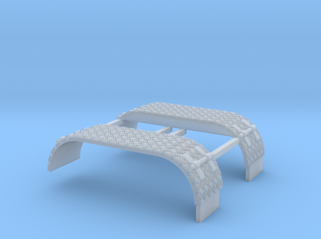 Kotflügel mit Krähenfußblech  in Smooth Fine Detail Plastic