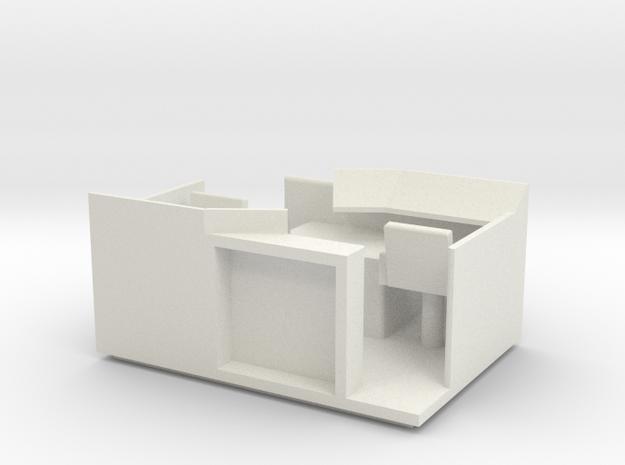 1:87 VR Tve 4 hytin sisutus in White Natural Versatile Plastic