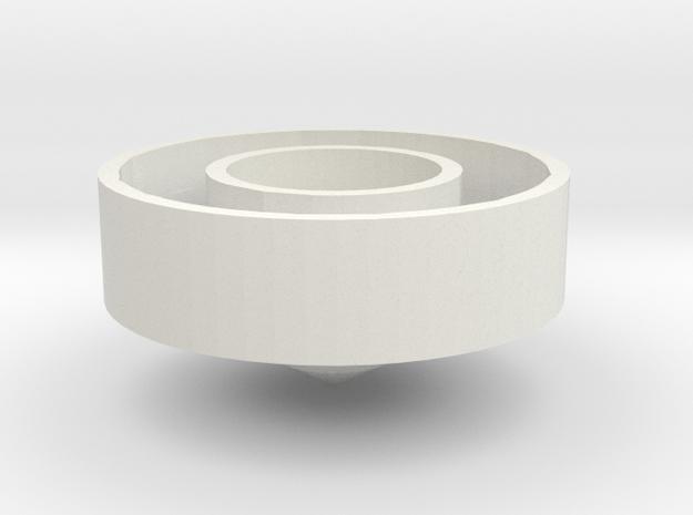 Halo bronze in White Natural Versatile Plastic