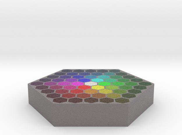 Color Wafer 2 - Flat in Full Color Sandstone
