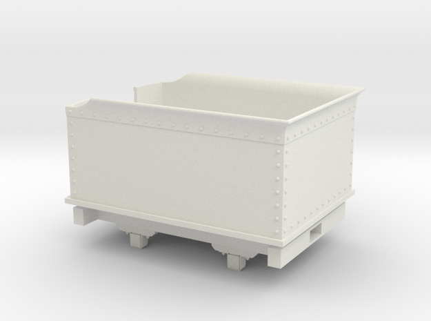 Gn15 Tender in White Natural Versatile Plastic