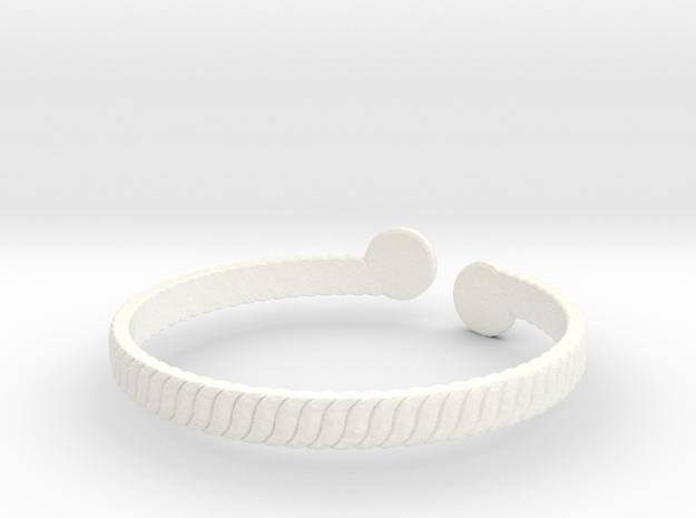 Simple Braided Bracelet -v1b 3d printed