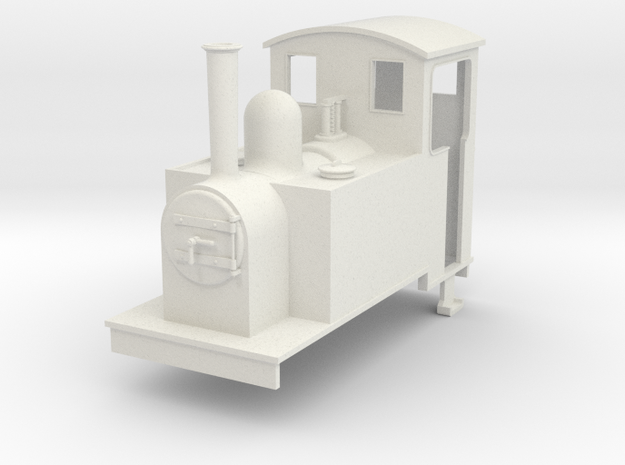Gn15 side tank 1 with cab 3d printed