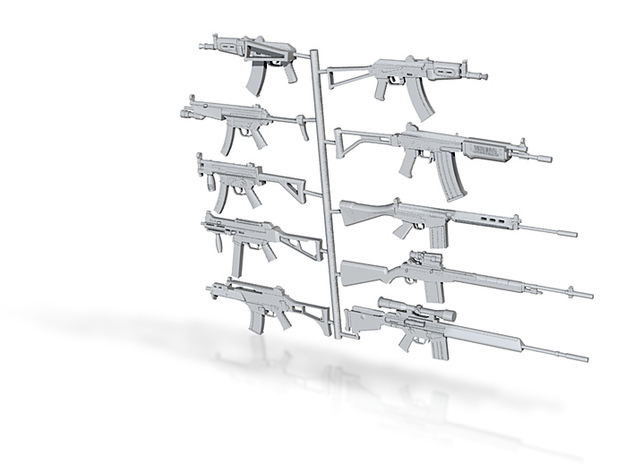 all guns scaled 1:18 3d printed
