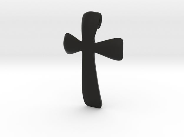 basic CROSS pendant 3d printed