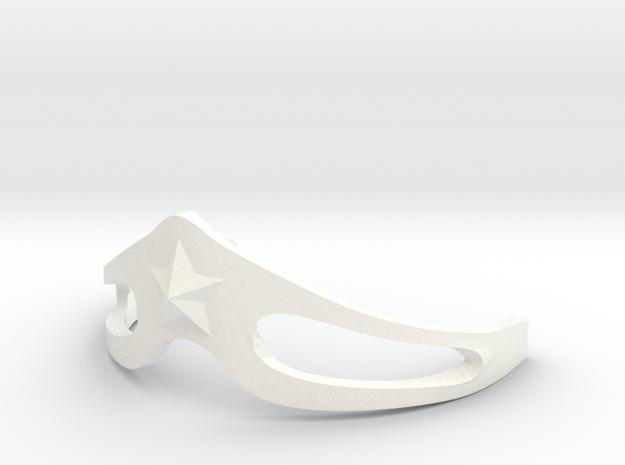 WONDER-WOMAN's tiara pendant alternate 3d printed