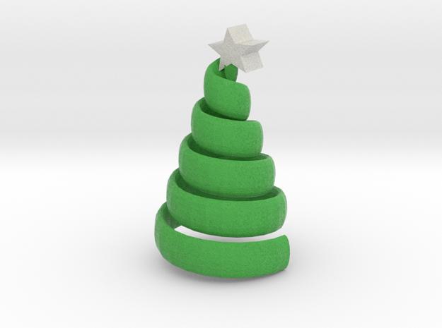 The swirl xmas tree