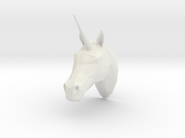 Unicorn 3d printed