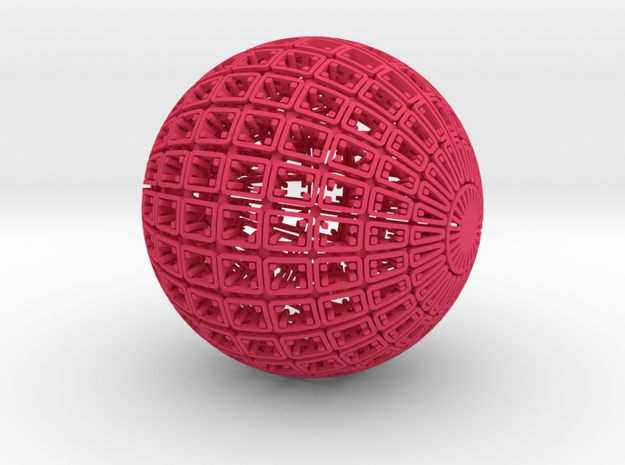 Pod (Colloidal Vessel 101010) 3d printed