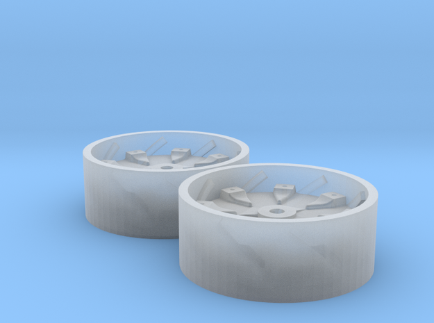 1:64 Blue Oval TW Series Tractor Rear Rim 3d printed