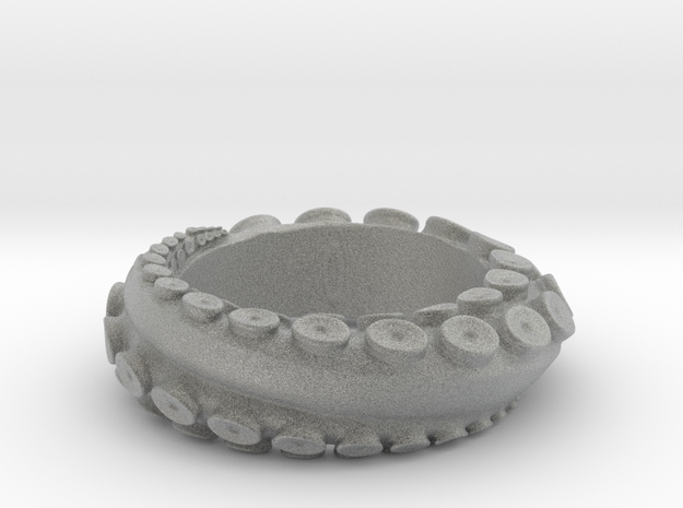 Octopus ring Size 11 3d printed