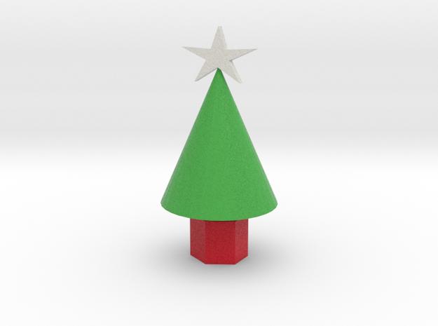 Xmas Tree smaller 3d printed