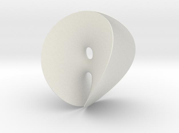 Chen-Gackstatter Minimal Surface in White Natural Versatile Plastic