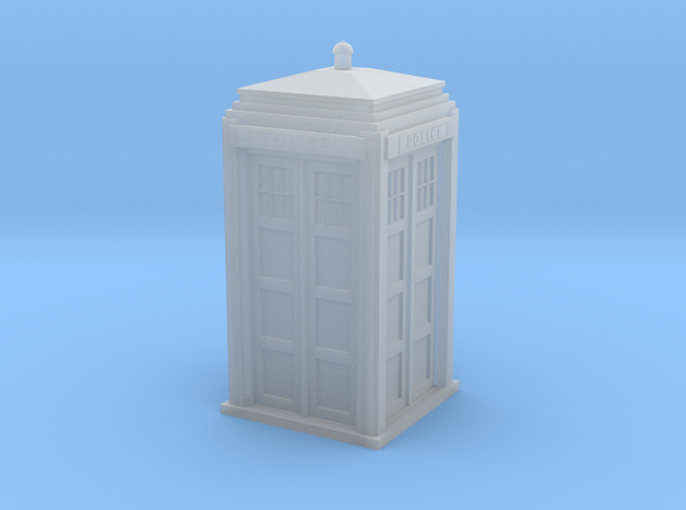 Police Signal (telephone) Box - OO (1:76) scale