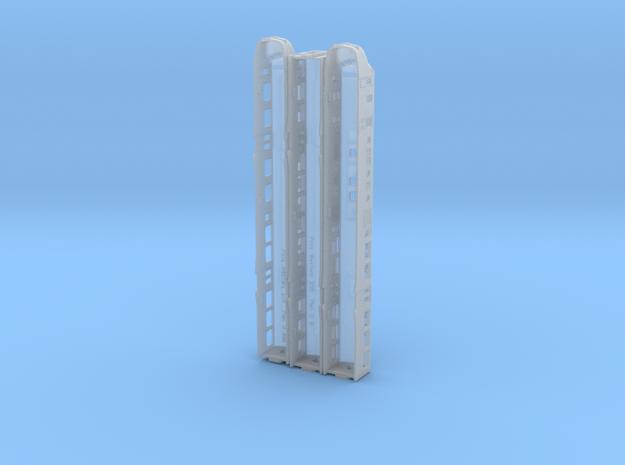Plan U N scale (1:160) 3d printed