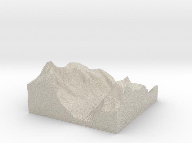 Terrafab generated model Mon Dec 16 2013 22:34:29 3d printed