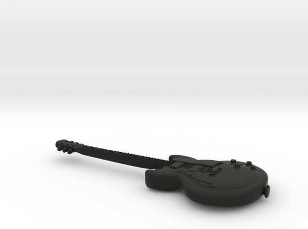 Gibson Guitar Sunburst 335 3d printed