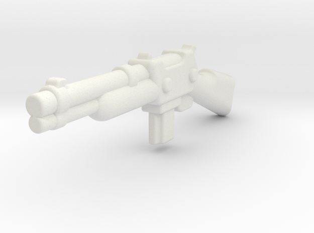 ZombieShotgun1 in White Natural Versatile Plastic
