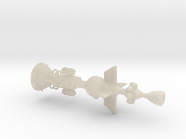 White Cross Ramscoop Damocles 3d printed