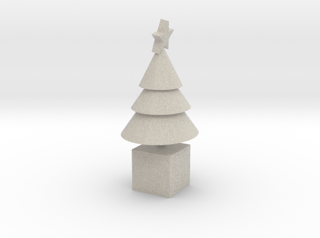 Star Cone Xmas Tree 3d printed